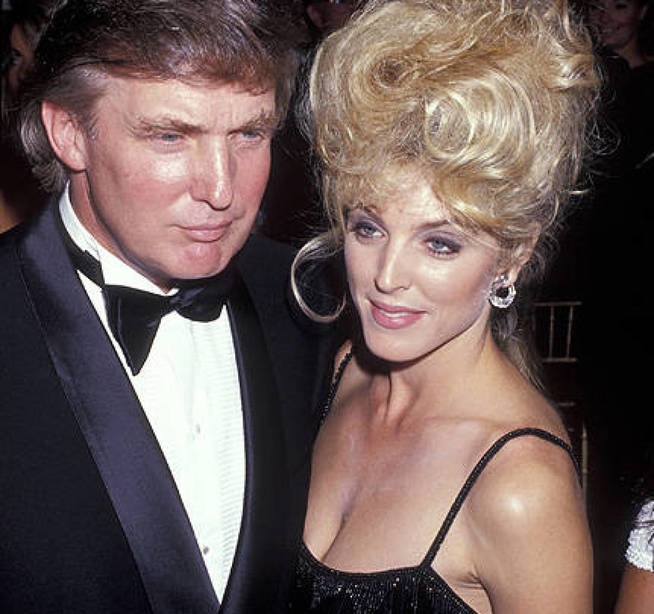 hot trump supporter Marla Maples