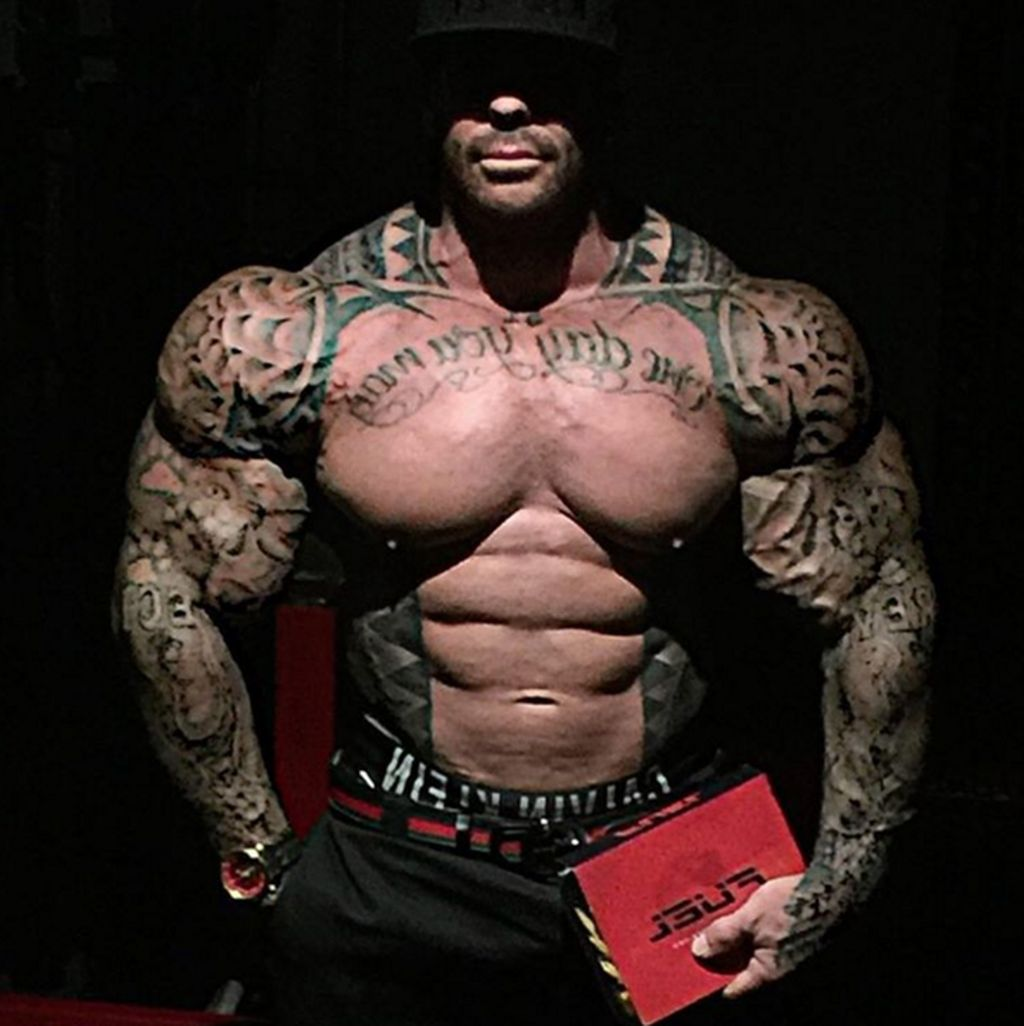 does rich piana take steroids
