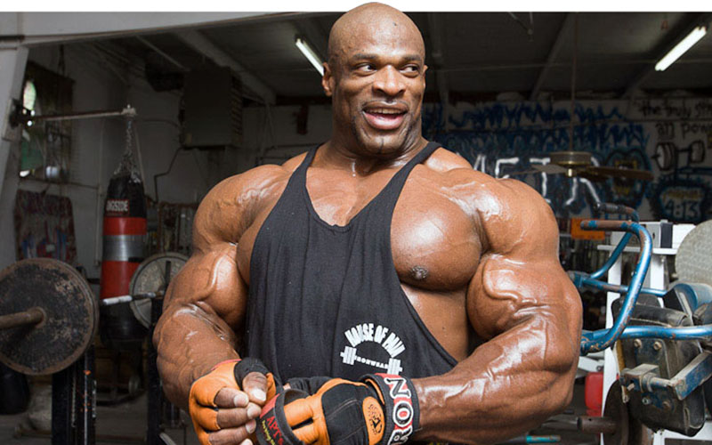 ronnie coleman fat