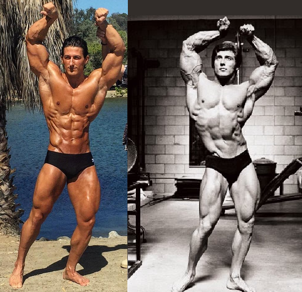 young frank zane